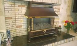 Like new - Flavel Renoir gas fire - only 3 years old.