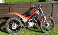 For sale, Gasgas 250cc contact 1994 trials bike, non