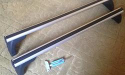 Up for sale is a pair of Genuine BMW roof bars for the