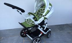 We are selling our Gesslein combi pram comprising