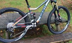 Here I have for sale my 2016 giant trance. I have only