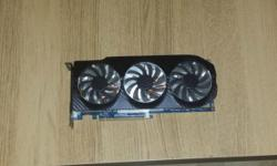 up for sale is my hd 7950 card and ek water block the