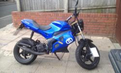 Hi I have got a Gilera dna 50cc moped for sale on a 07