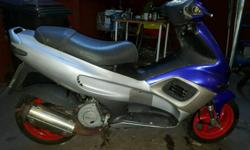 Here for sale is my gilera runner sp125 bike has frame