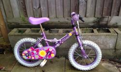 Due to a new bike at Christmas for sale is my daughters