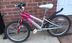 Raleigh Krush girls bike 6 Shimano gear with grip