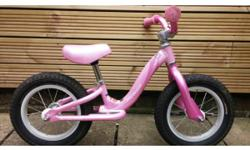 Balance bike in practically new condition. Very well