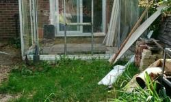 Greenhouse/lean to, free to collector, we will help to