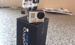Go pro hero 3+ for sale never been used Come with the