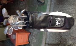 Golf clubs and bag for £20 bargain In decent used