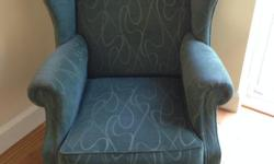 Very comfortable, high backed arm chair in excellent