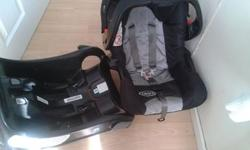 Graco 0+ infant carseat with base imaculate condition!!