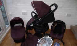 Graco Evo complete pram set in great condition for