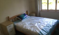 One FULLY furnished double room WITH A NEW MATTRESS is