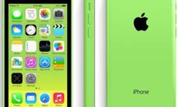 Green iPhone 5c 8g only 8 days old so perfect condition