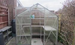 GREENHOUSE Glass construction. width 190cm with door