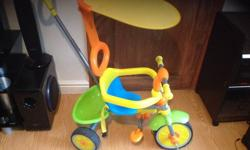 In very good condition Children bike with harness and