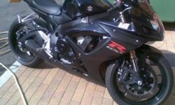 Gsxr 600 for sale 2007 model Just had full service and
