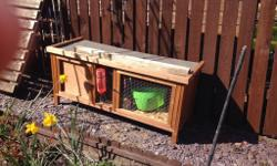 Good condition guinea pig hutch for sale. Collection