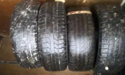 set of 4 tyres can deliver free of charge in dundee