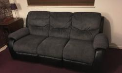 Harvey's 3 and 2 seater reclining sofas. Only 3 years