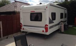 HOBBY 645 vip 2010, 6 berth The caravan is in excellent
