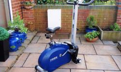 york exercise bike/rowing machine, body burner