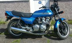 A prime example of Hondas' 750-4. In great condition,