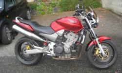 Honda cb900 hornet f5 in excellent condition,26k