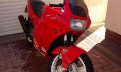 Fun, fast and sporty CBR400. Greys import first