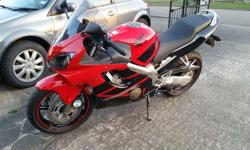 57 registered cbr600f in black and red. Just 5,100