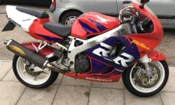 Honda CBR 918 RRW 98S Plate New fork seals, rear tyre,