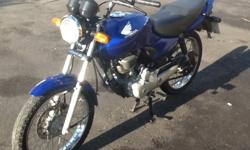 Honda CG 125 2005 In excellent condition Well