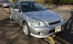 Honda Civic coupe ej 1999 reg brought with 119k miles