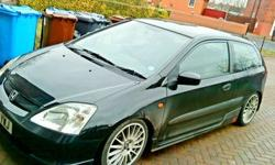 HONDA CIVIC S (TYPE R LOOK-A-LIKE) 1.4 . CHEAP 2 INSURE