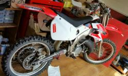 1998 honda cr125. Great bike, was bought from a mx shop