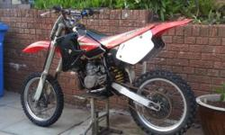 Honda cr 80, great bike not to be underestimated - this