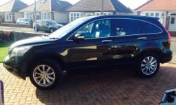 Honda CRV, top of the range, EX , I-DTEC 2.2 diesel.
