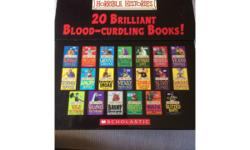 Complete set of horrible histories books. Some of the