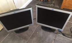 These monitors are in good working order, they have