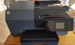 A new HP wireless officejet pro for printing, scanning,