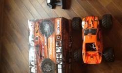 HPI bullet 3.0 stadium truck nitro . May need engine