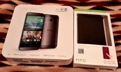 HTC ONE M8 in grey, excellent condition and hardly