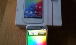 Unlocked white HTC sensation XL, Beats audio. Boxed