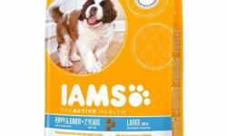 **Great Value** IAMS Puppy & Junior <2 Years Large