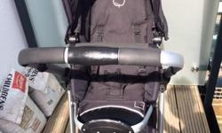 iCandy Apple pushchair with Maxi-Cosi, raincover