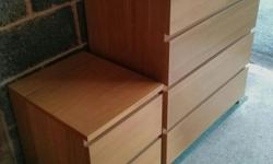 This post is for the Ikea Malm 4 Drawers chest in oak