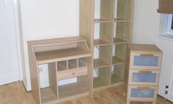 Ikea Bedroom set in good condition. Light Oak colour.