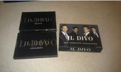 SELLING IL DIVO CD'S. BOXED AND IN GREAT CONDITION.