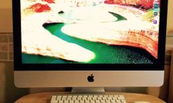 Hello everybody. Here is for sale my almost new iMac